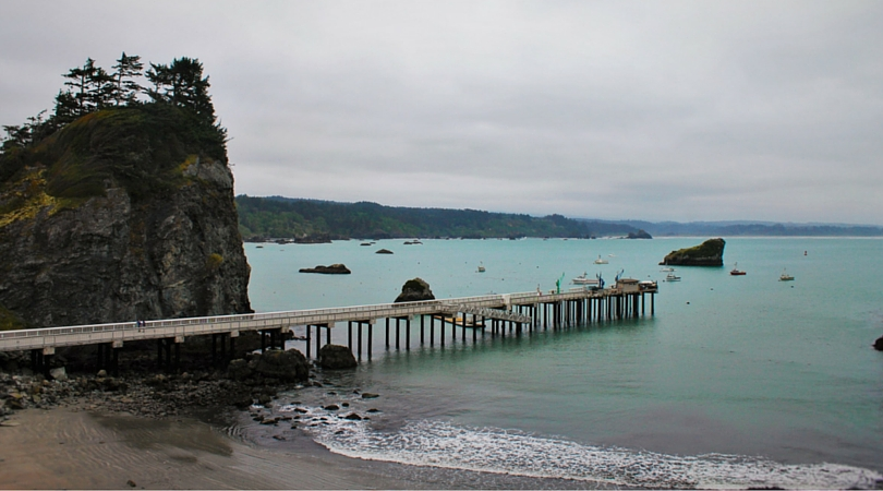 Pier at Trinidad Head