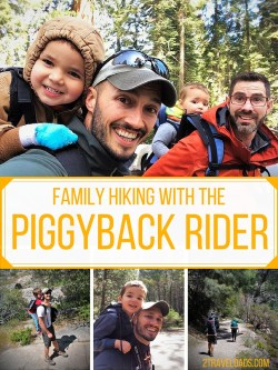Piggyback Rider pin