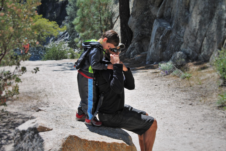 Rob Tayloy using Piggyback Rider at Hetch Hetchy Yosemite National Park 5