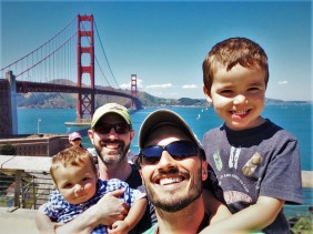 Taylor Family Golden Gate Bridge from Welcome Center GGNRA 2