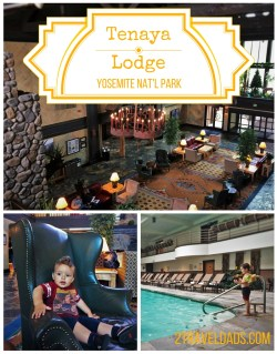 If you're looking for the resort experience at Yosemite, Tenaya Lodge is beautiful and has so many options for family travel fun. 2traveldads.com