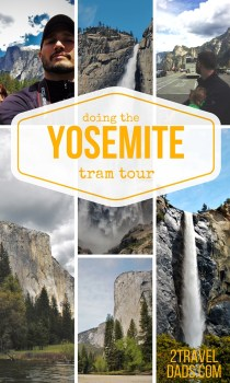 You can always drive yourself around checking out views but having a guide is brilliant and so enjoyable. The Yosemite Valley Floor tram tour is amazing with kids! 2traveldads.com