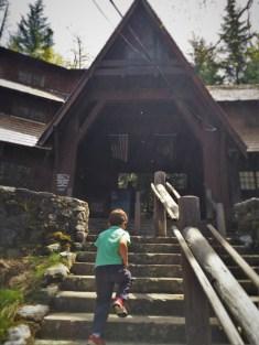 LittleMan at Oregon Caves National Monument visitors centerq