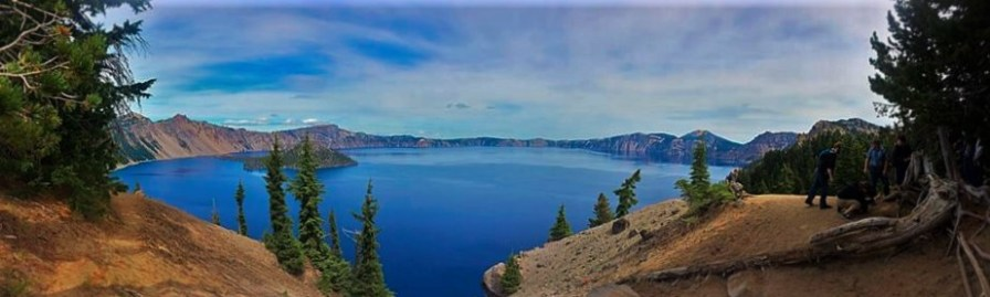 Crater Lake National Park FitTwoTravel pano