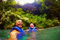 Rob Taylor At the Blue Hole St Anns Ocho Rios Jamaica