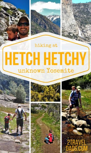 Yosemite National Park is amazing... and crowded. Hiking the Hetch Hetchy Valley is beautiful, full of waterfalls, and very few people. Great family travel! 2traveldads.com