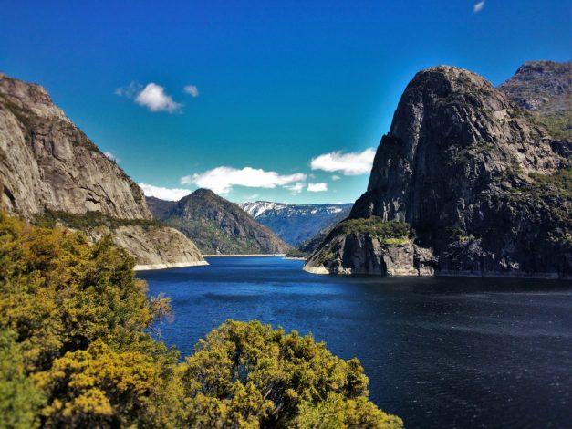 Lake at Hetch Hetchy Yosemite National Park 7