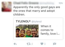 Mean tweet Tylenol HowWeFamily 3