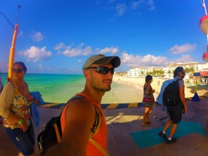 Rob Taylor in Playa del Carmen 1