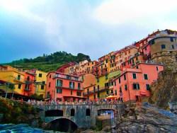 Village of Manarola Cinque Terre Italy 4e