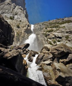 Wapama Falls at Hetch Hetchy Yosemite National Park 12