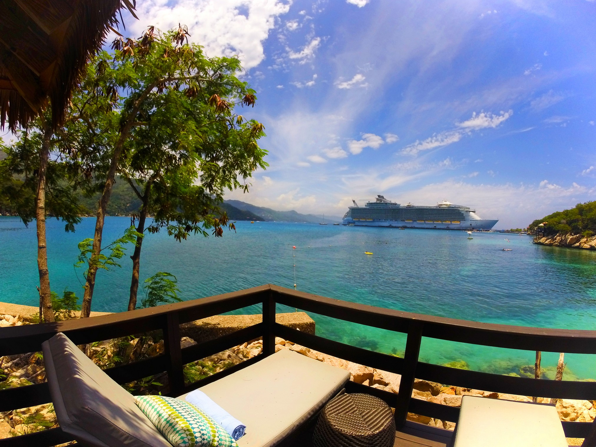 a day in labadee