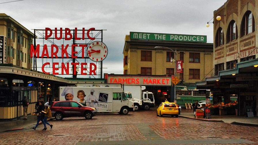 Pike Place Market Seattle 1