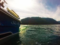 Boating at Lake Cushman Olympic Peninsula 2