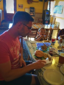 Taylor Family dining at Roslyn Roadhouse 1