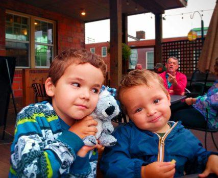 Taylor Kids at Skagit River Brewery Mt Vernon
