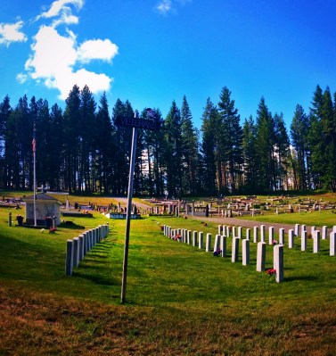 Veterans Cemetery Roslyn Washington 1