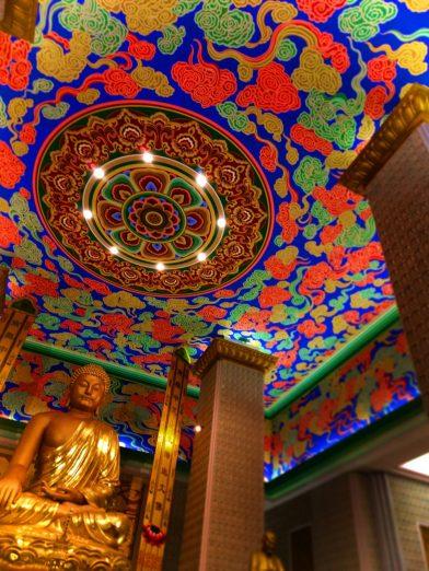 Grand Golden Buddha in Famen Temple Baiji Shaanxi China