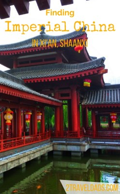 Part of the allure of China is its rich history. Between the Xi'an Imperial Garden at the Tang Paradise and the complex at the Giant Wild Goose Pagoda, the colorful history was everywhere. 2traveldads.com