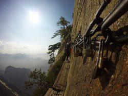 Love locks on death planks trail 3