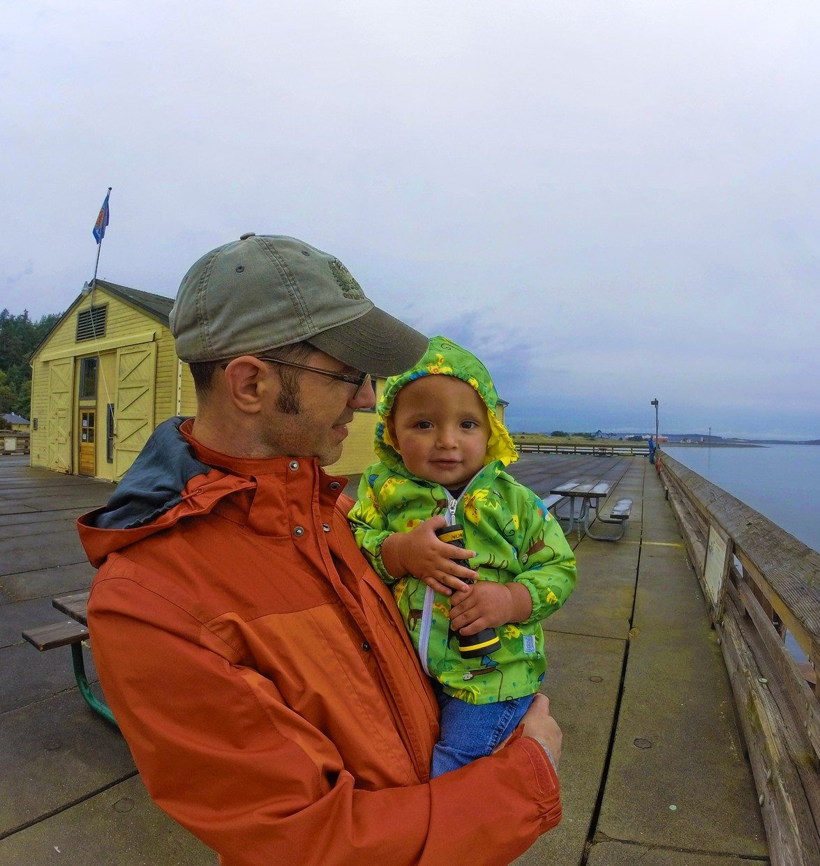 Taylor family at Port Townsend Marine Science Center 7