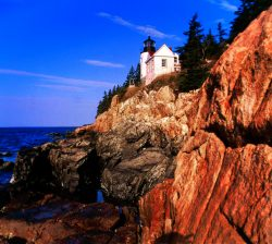 Bass Harbor Head Lighthouse Arcadia National Park
