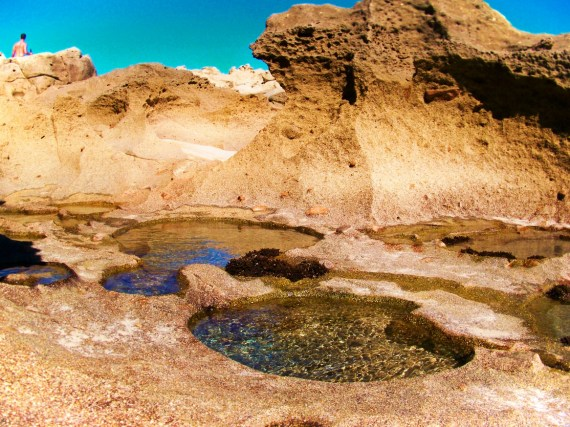 Tidepools at East Cape Beach in San Jose del Cabo