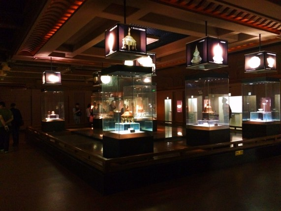 Ancient artifacts in Famen Temple museums 1