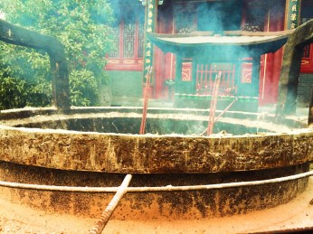 Burning Incense at Famen Temple 1