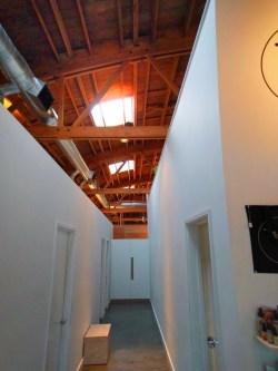 Cedar roof in Loyly spa Portland 1