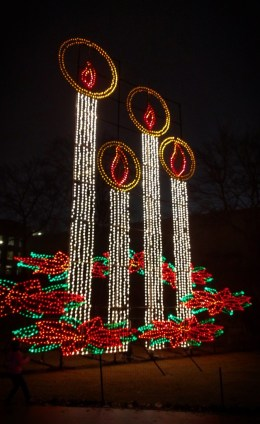 Christmas Candles Lights of Life Marietta Georgia 1