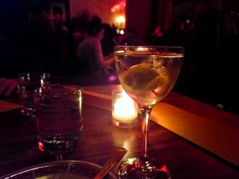 Martini at Expatriate Portland 1