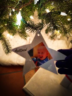 Matthew on Pediatric Brain Tumor Christmas Tree Atlanta Festival of Trees 1