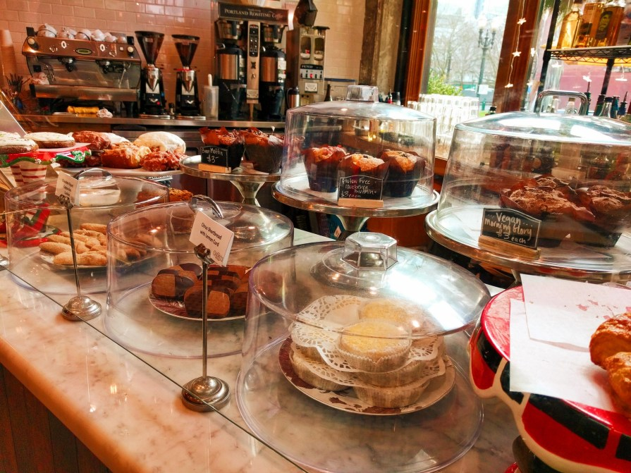 Pastry Case at Cheryls Portland restaurant 1