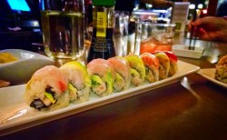 Rainbow Rolls at Bamboo Sushi Portland 2