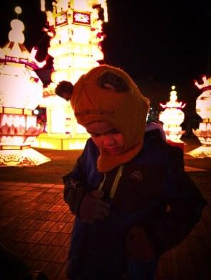 Taylor Kids at Chinese Lantern Festival Atlanta 1