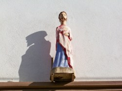 Carved Wooden Saint in Todos Santos 2