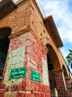 Historical building in La Paz BCS Mexico 1