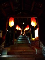 Red Chinese Lanterns at Taibai Mountain Hot Springs Resort 1