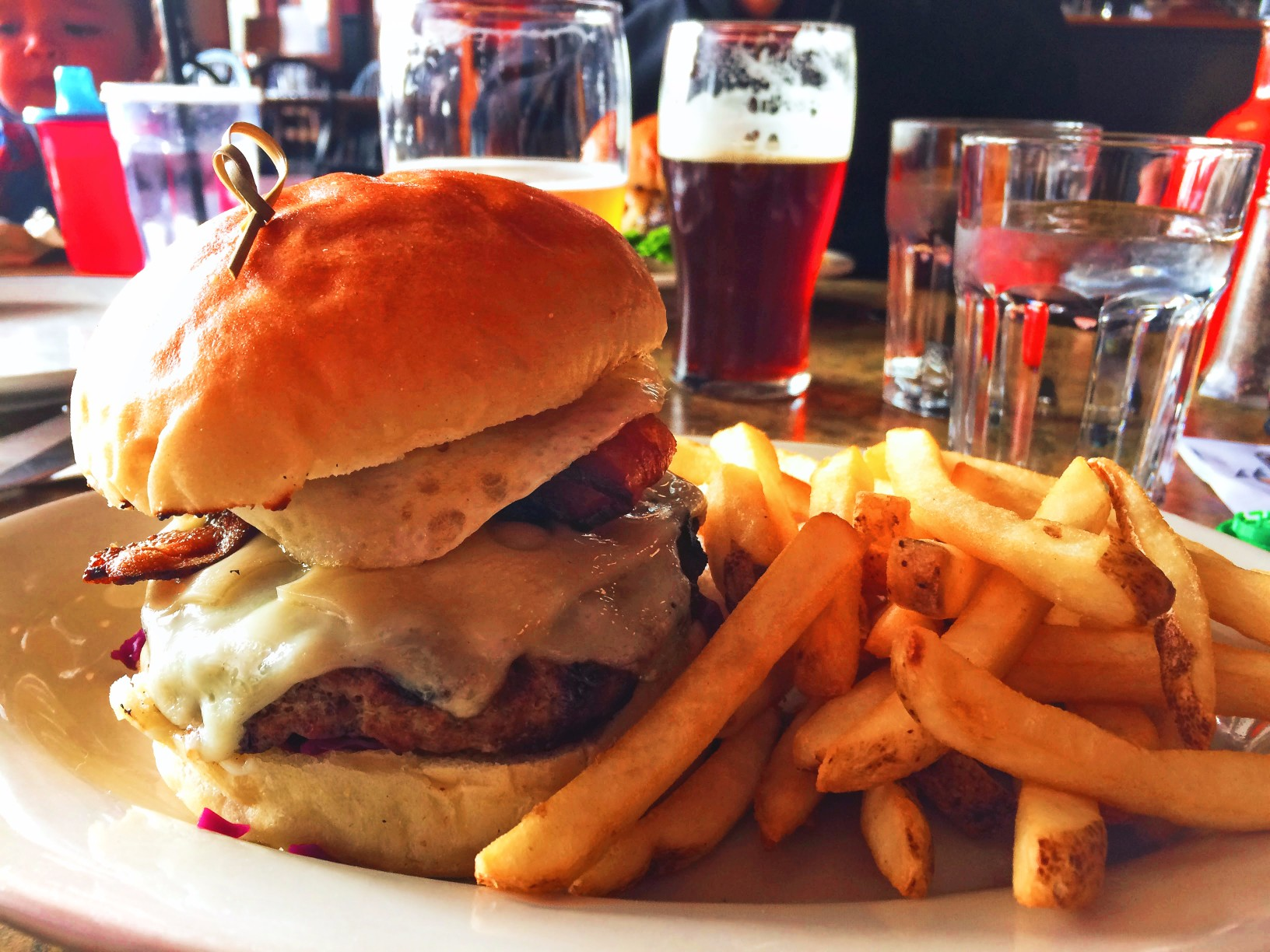 Croque Burgre Public House Port Townsend Olympic Peninsula 1
