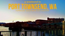 A weekend in Port Townsend, Washington is the perfect way to capture the nature, culture and Victorian history of the Puget Sound area. Delicious food, a lighthouse, art galleries, Port Townsend has everything to make you fall in love with it. 2traveldads.com