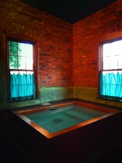 Private Saltwater Bath at Soak on the Sound Port Townsend 1