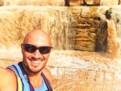 Rob Taylor at Hukou Falls National Park Shaanxi Province 1