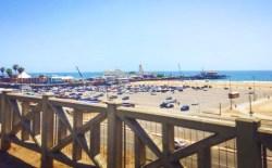 Santa Monica Pier as seen from Bluffs walk 05