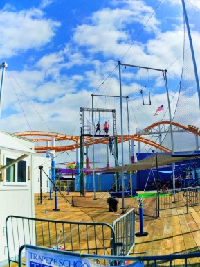 Trapeze School New York on Santa Monica Pier 1