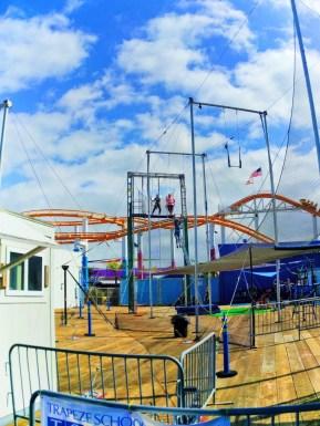 Trapeze School New York on Santa Monica Pier 1