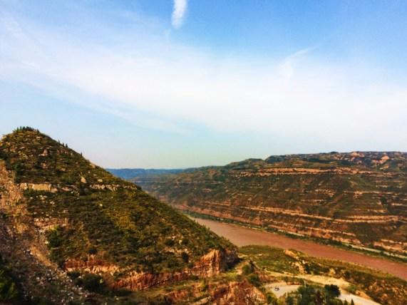 Yellow River Gorge at Hukou Falls National Park 2