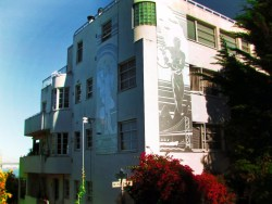Art Deco building on Telegraph Hill San Francisco 1