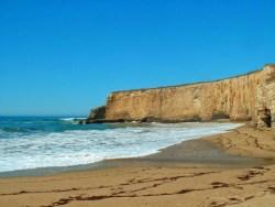 Beach at Pigeon Point Northern California Coast road trip 2