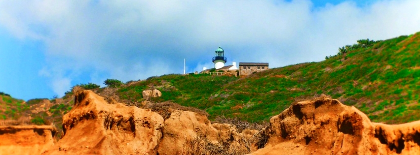 Cabrillo National Monument in San Diego is the perfect mix of nature, history and nautical interest. Its tidepools, lighthouses and living history events are ideal to add to family travel in SoCal. 2traveldads.com